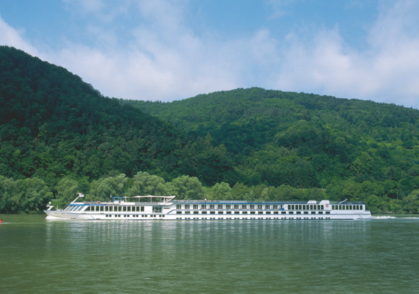 Ship at the Danube / Wachau Valley